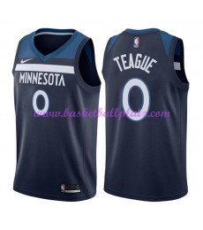 Minnesota Timberwolves Trikot Herren 2018-19 Jeff Teague 0# Icon Edition Basketball Trikots NBA Swin..